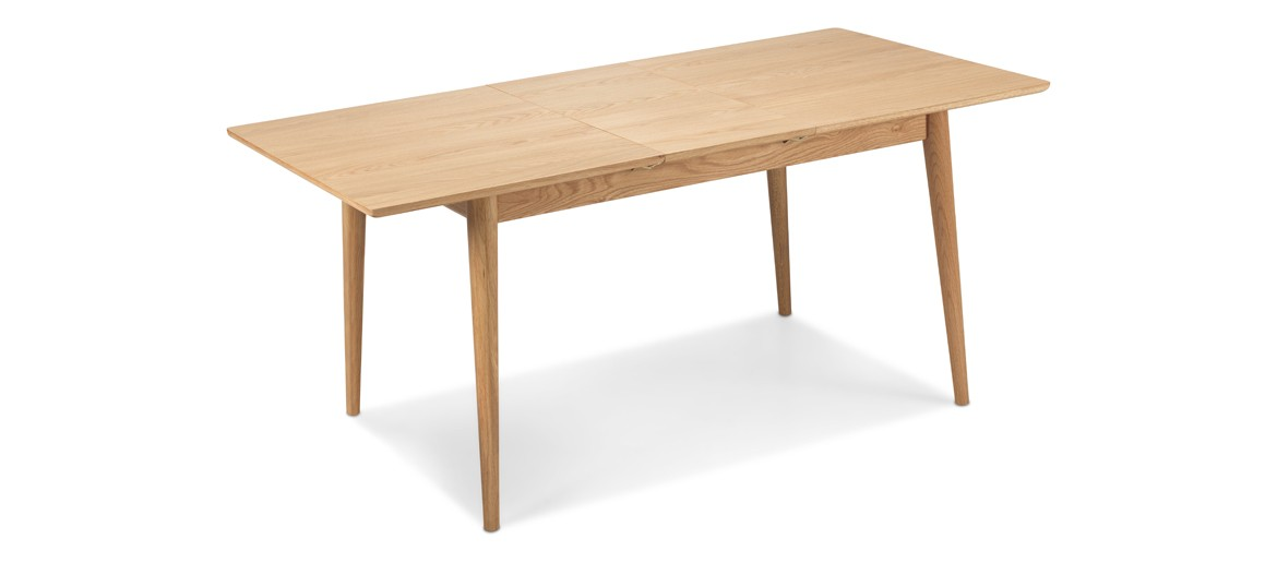 Skiena Oak Extended Dining  Table