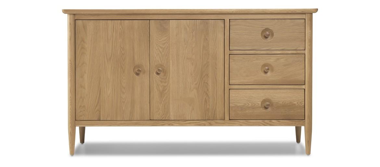 Skiena Oak Large Sideboard
