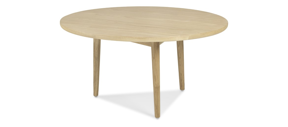 Skiena Oak Circular Coffee Table
