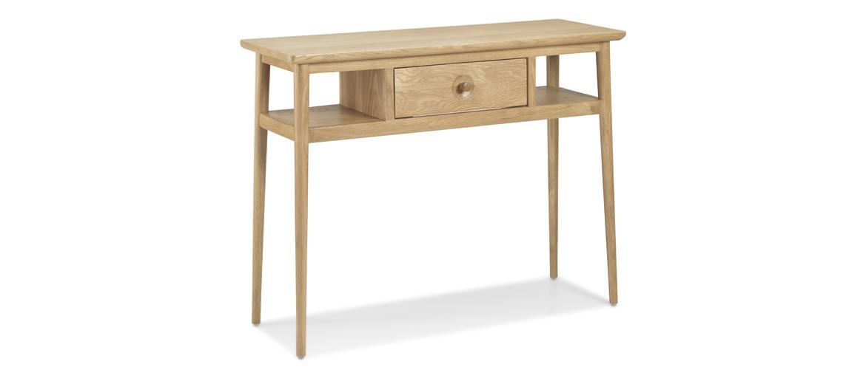 Skiena Oak Console Table