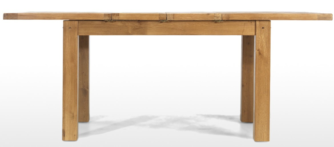 Rustic Oak 132-198 cm Extending Dining Table