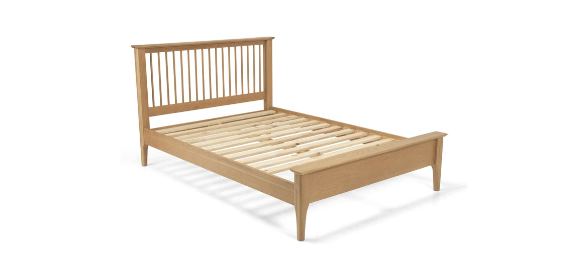 Kassay Oak 5ft King Size  Bed