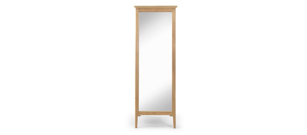 Kassay Oak Cheval Mirror