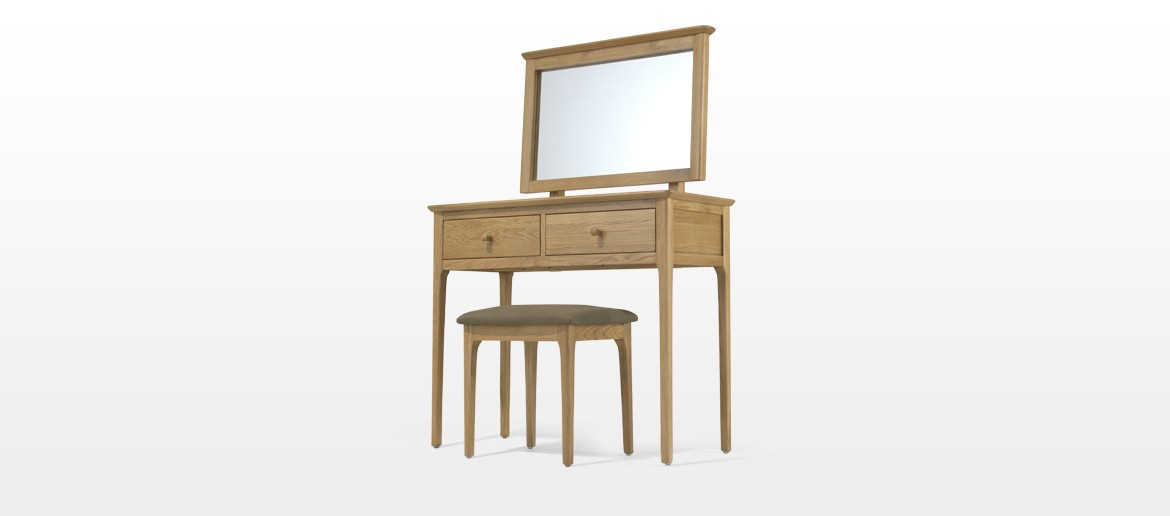 Kassay Oak Dressing Table Set