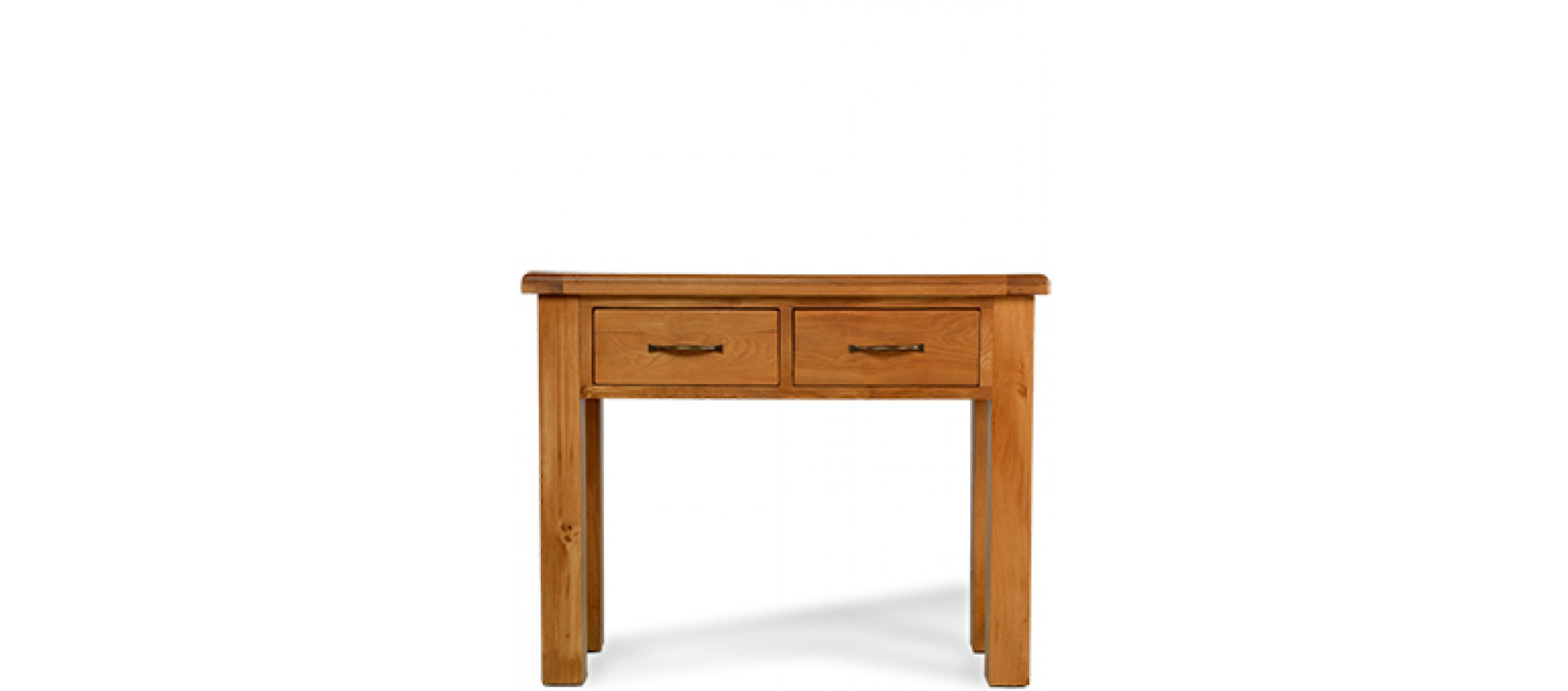 5 Console Table ~ Barham oak console table quercus living