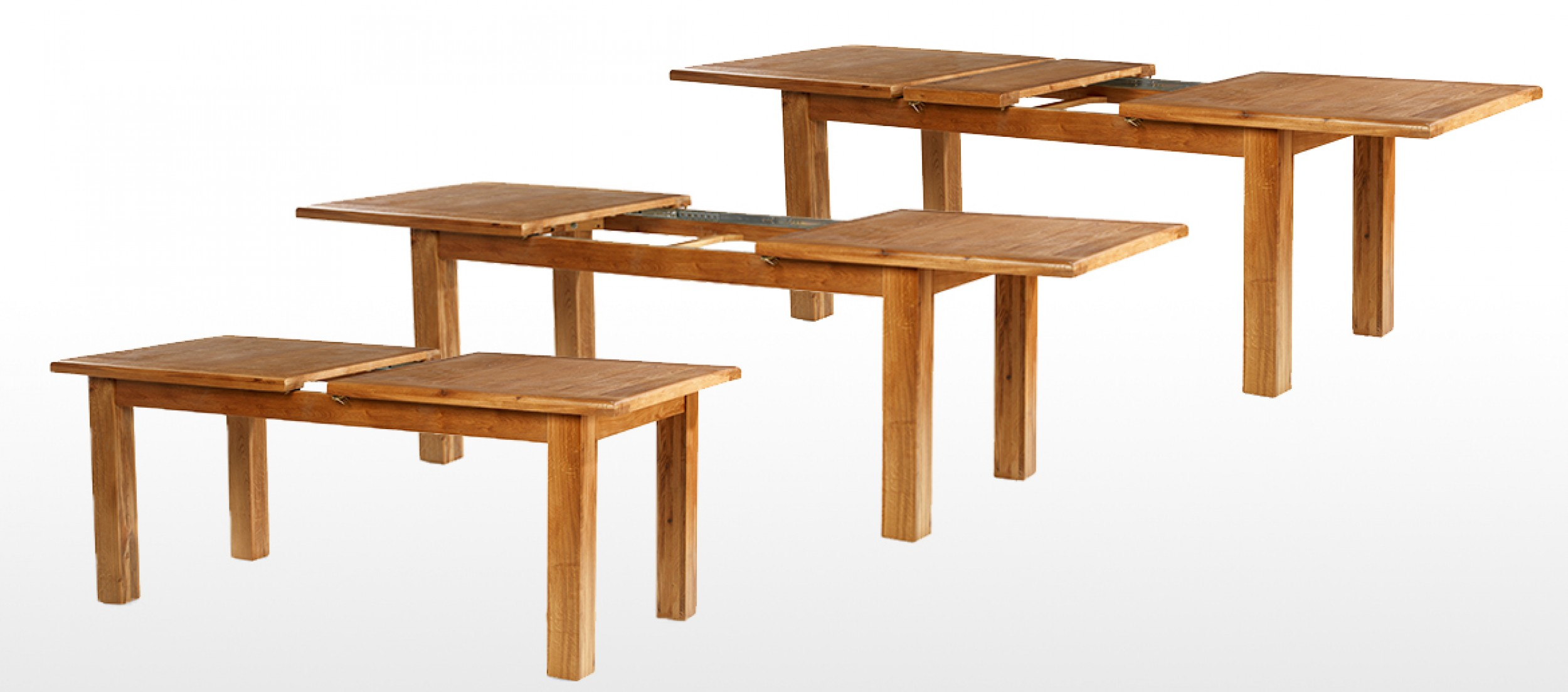 Barham Oak 132 198 Cm Extending Dining Table And 6 Chairs