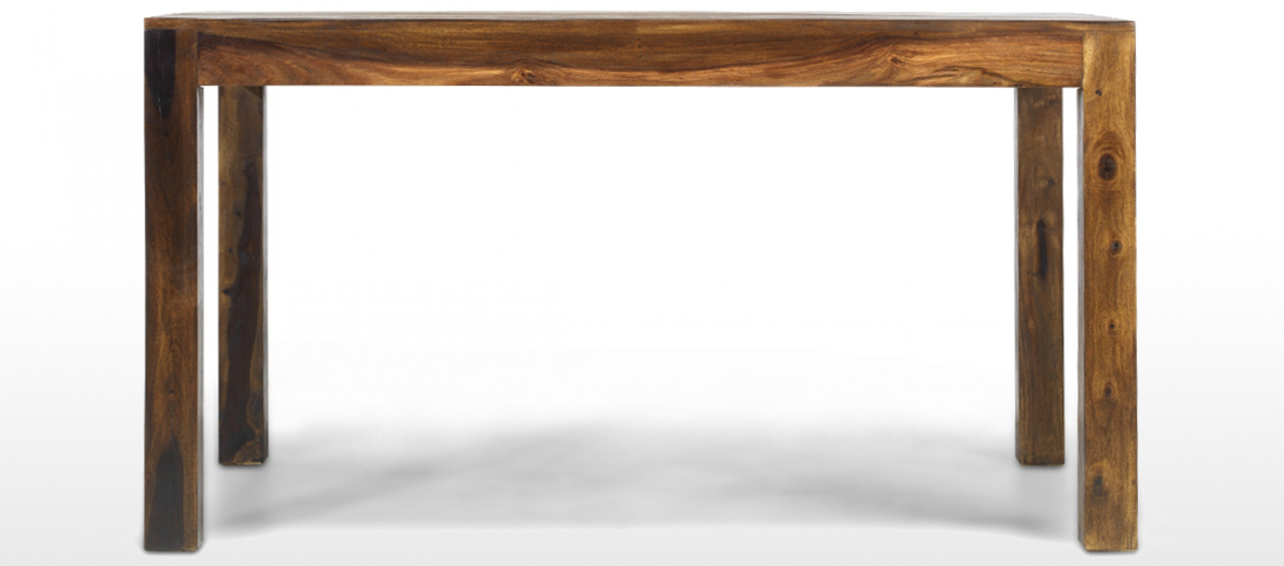 Cube Sheesham 140 Cm Dining Table