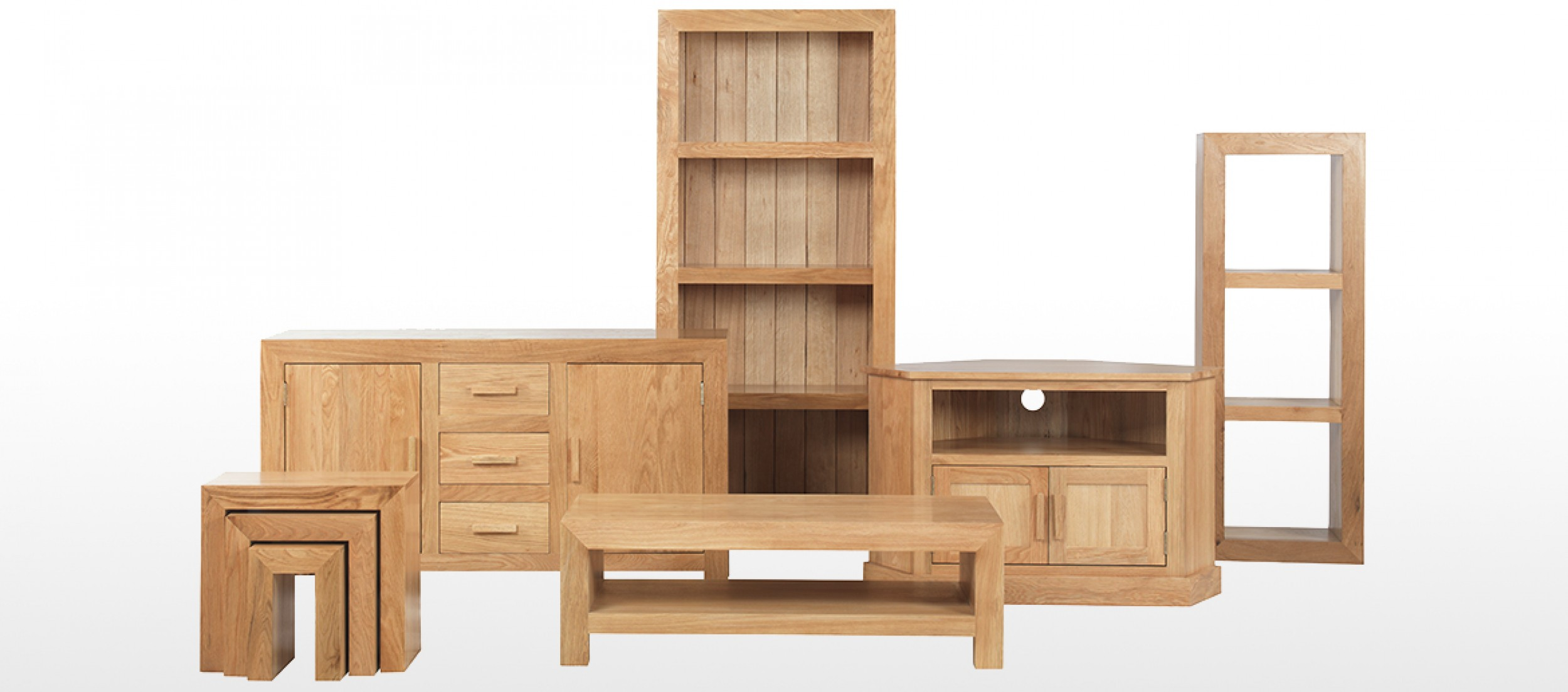 Cube Oak Small Sideboard Quercus Living