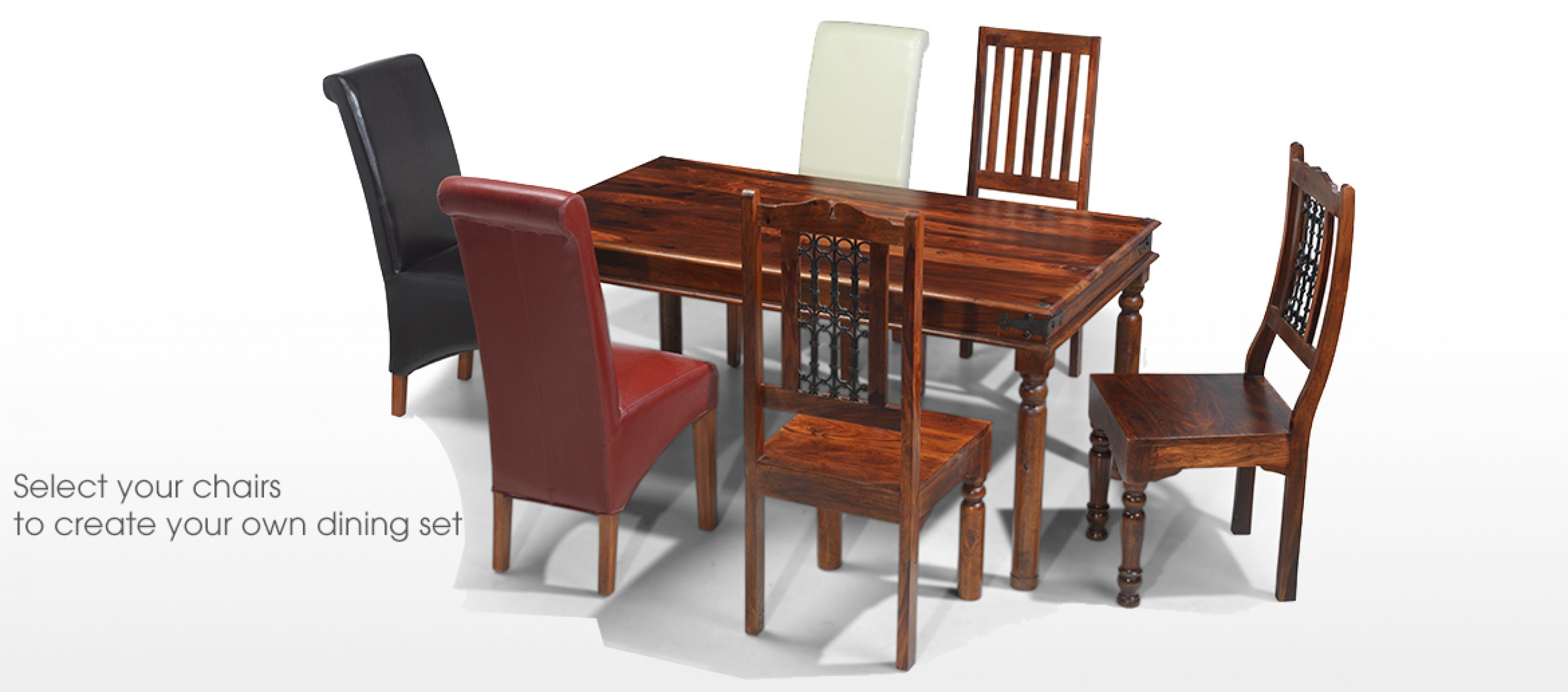 jali sheesham 200 cm thakat dining table and 8 chairs quercus living