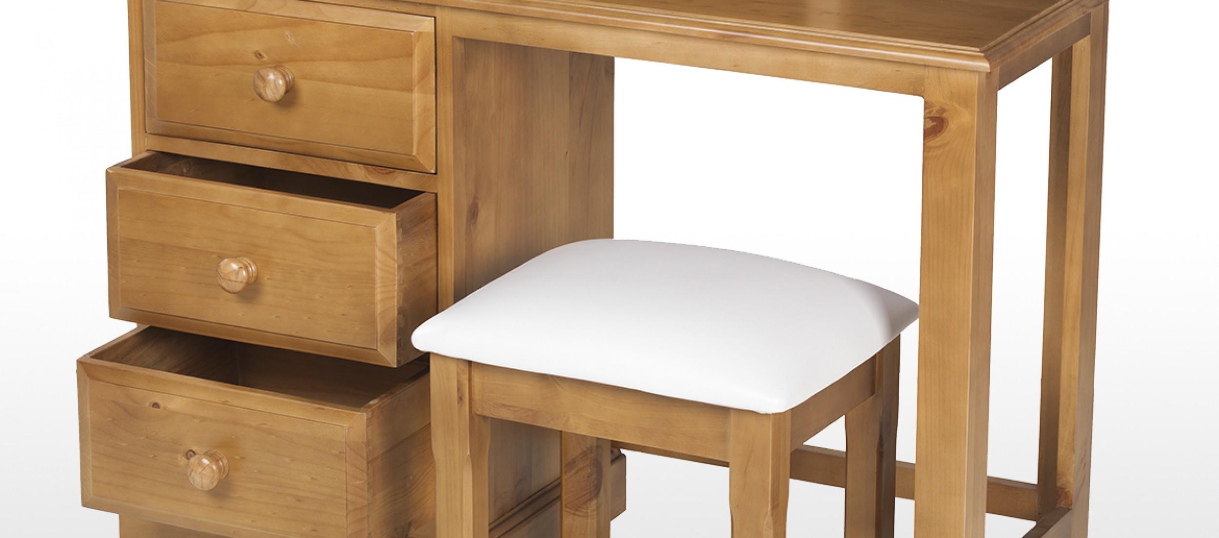 Essentials Pine Dressing Table Set | Quercus Living