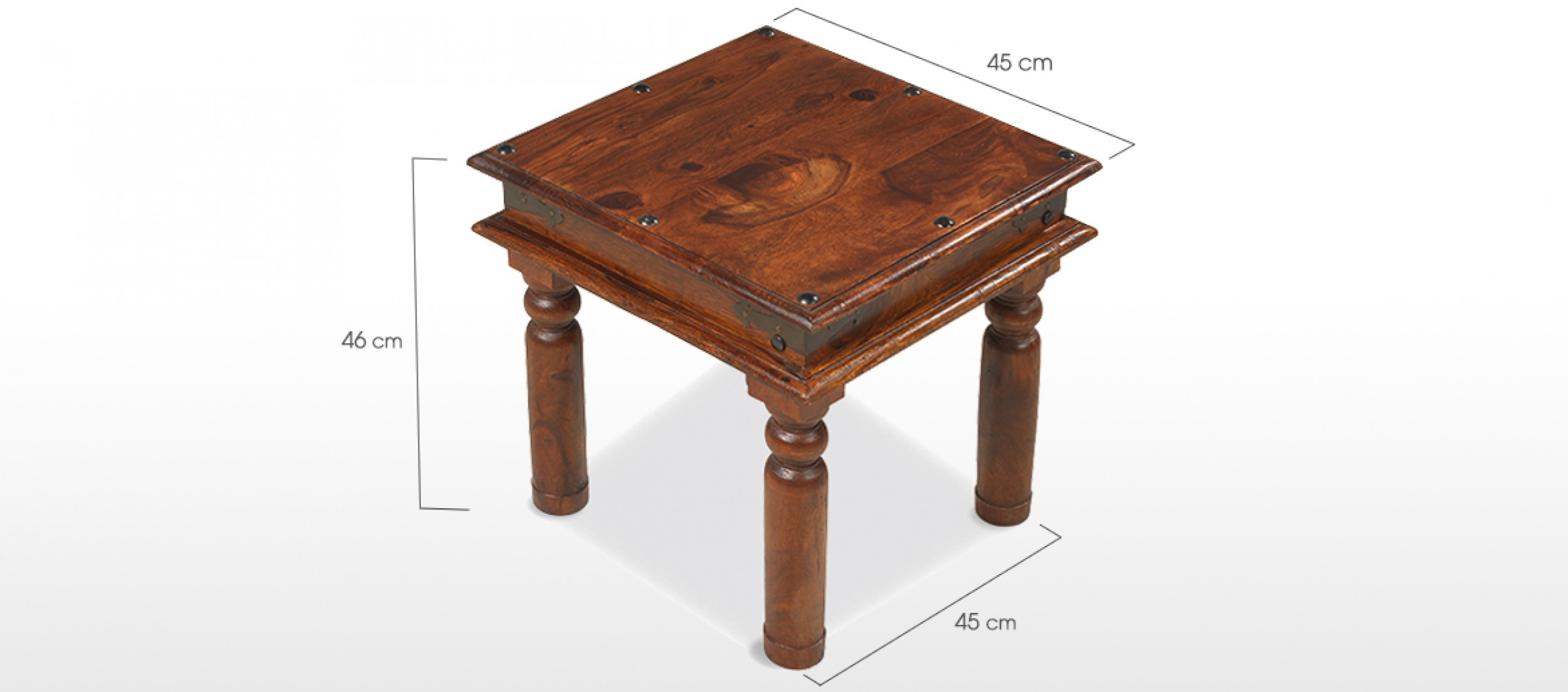 Jali Sheesham 45 Cm Thakat Coffee Table Quercus Living