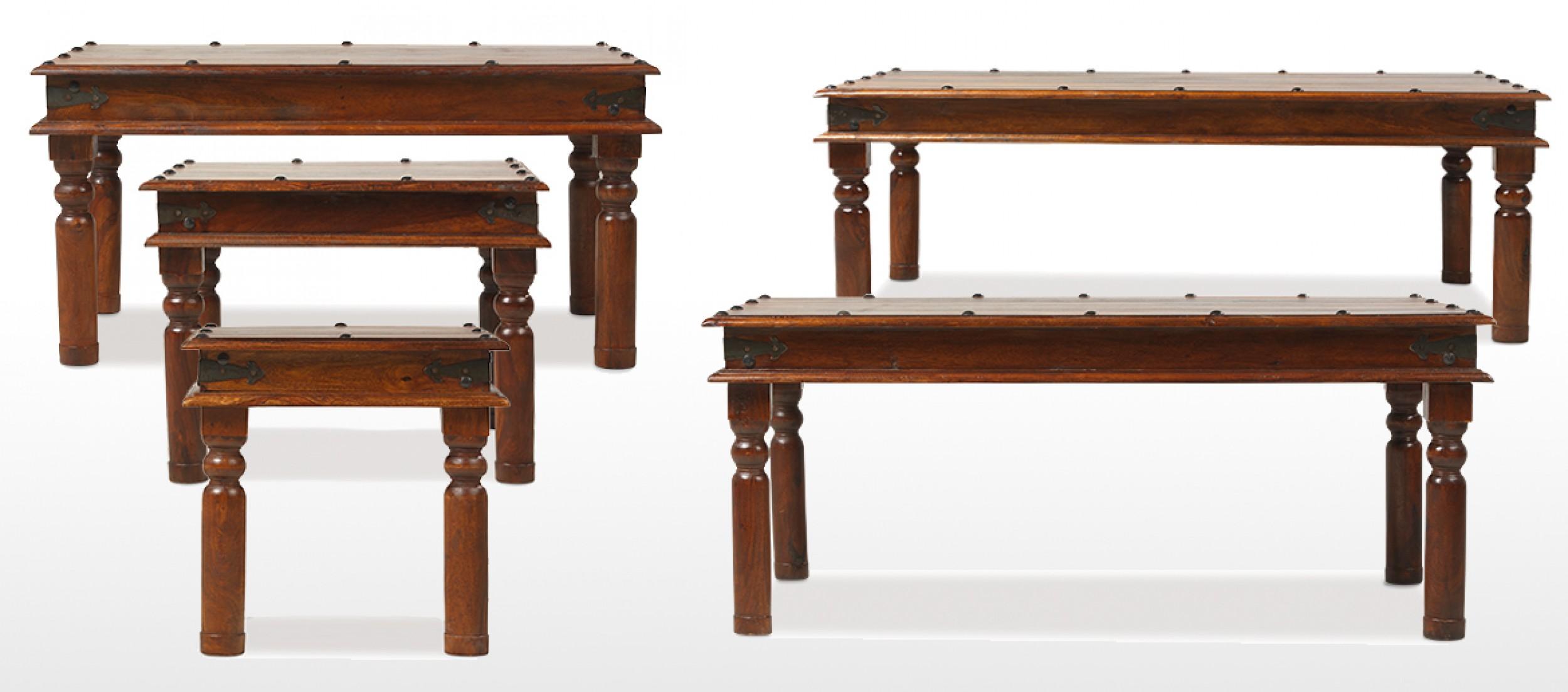 Jali Sheesham 120 cm Thakat Coffee Table Quercus Living