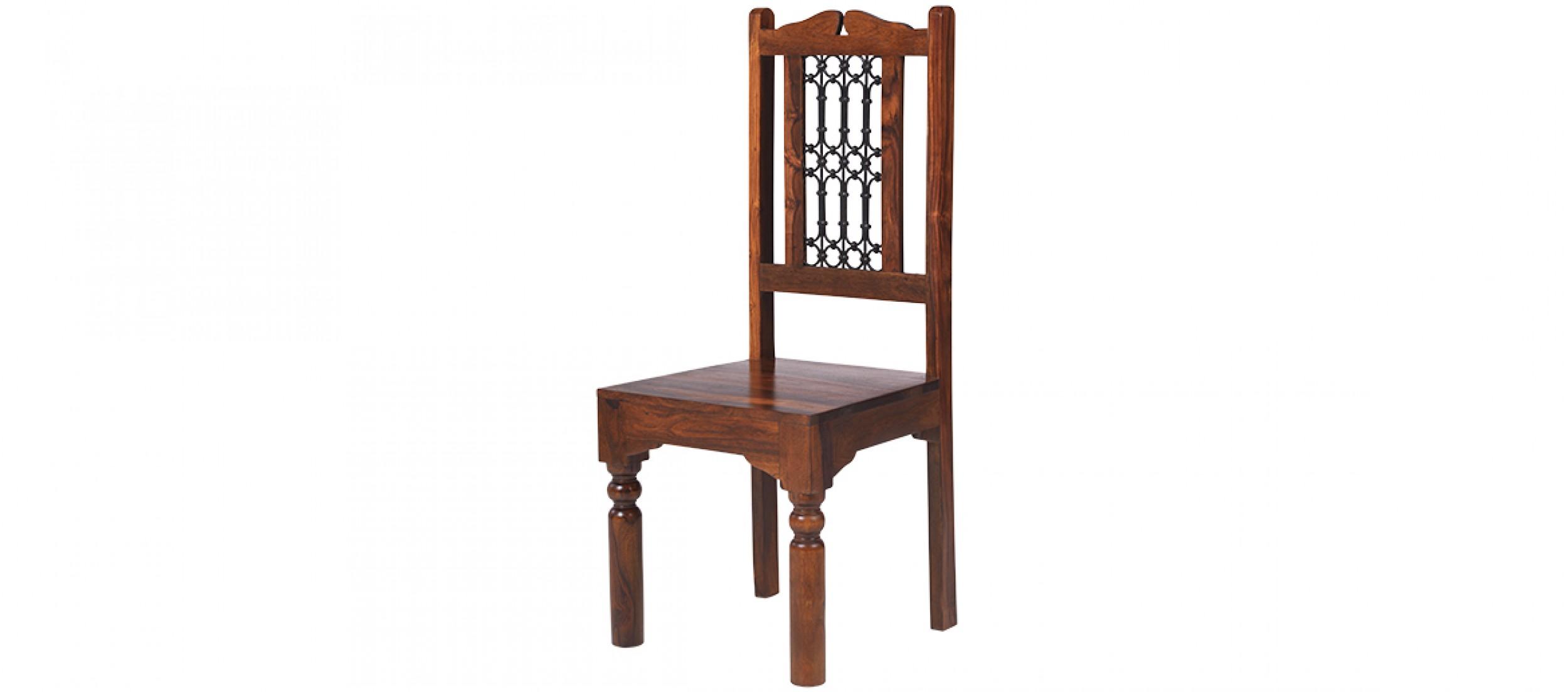jali sheesham high back ironwork dining chairs  pair  quercus living - jali sheesham high back ironwork dining chairs  pair