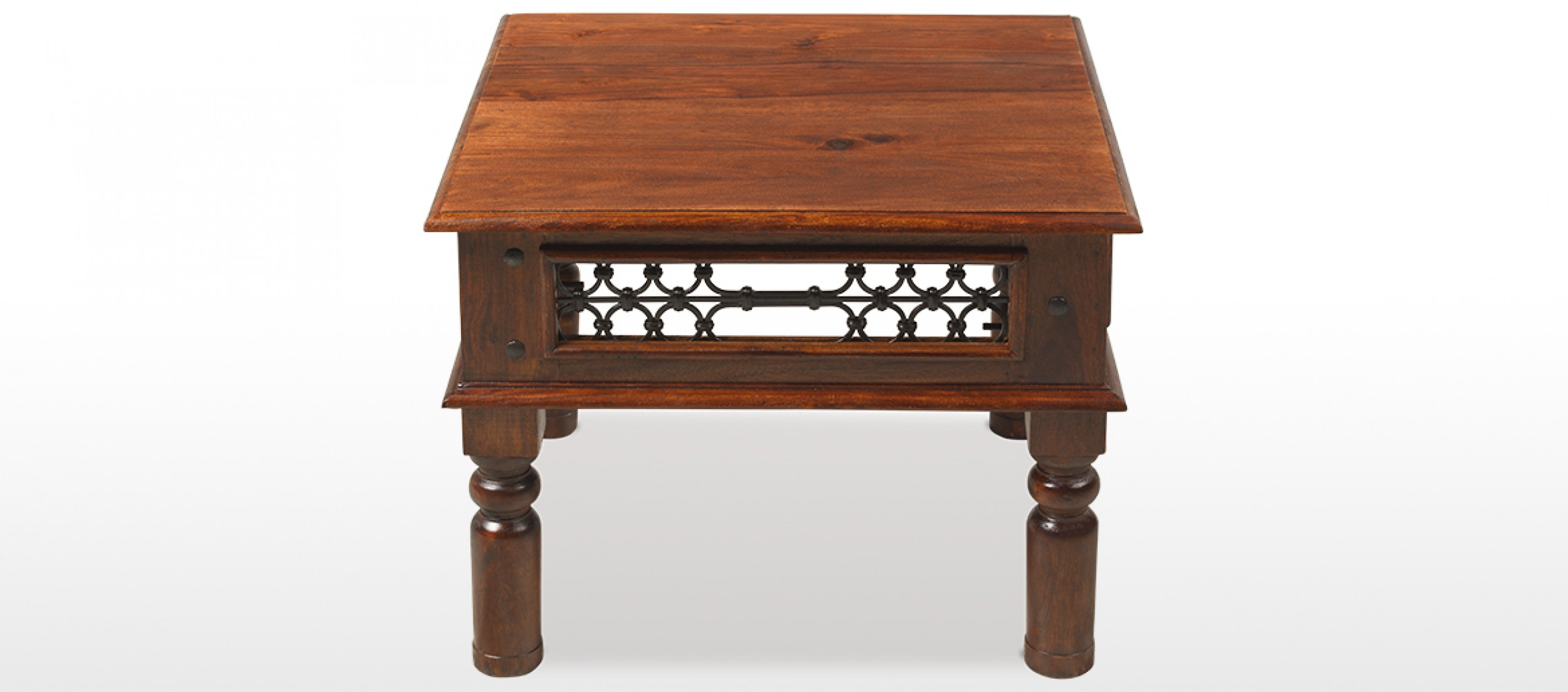 Jali Sheesham 60 Cm Coffee Table Quercus Living