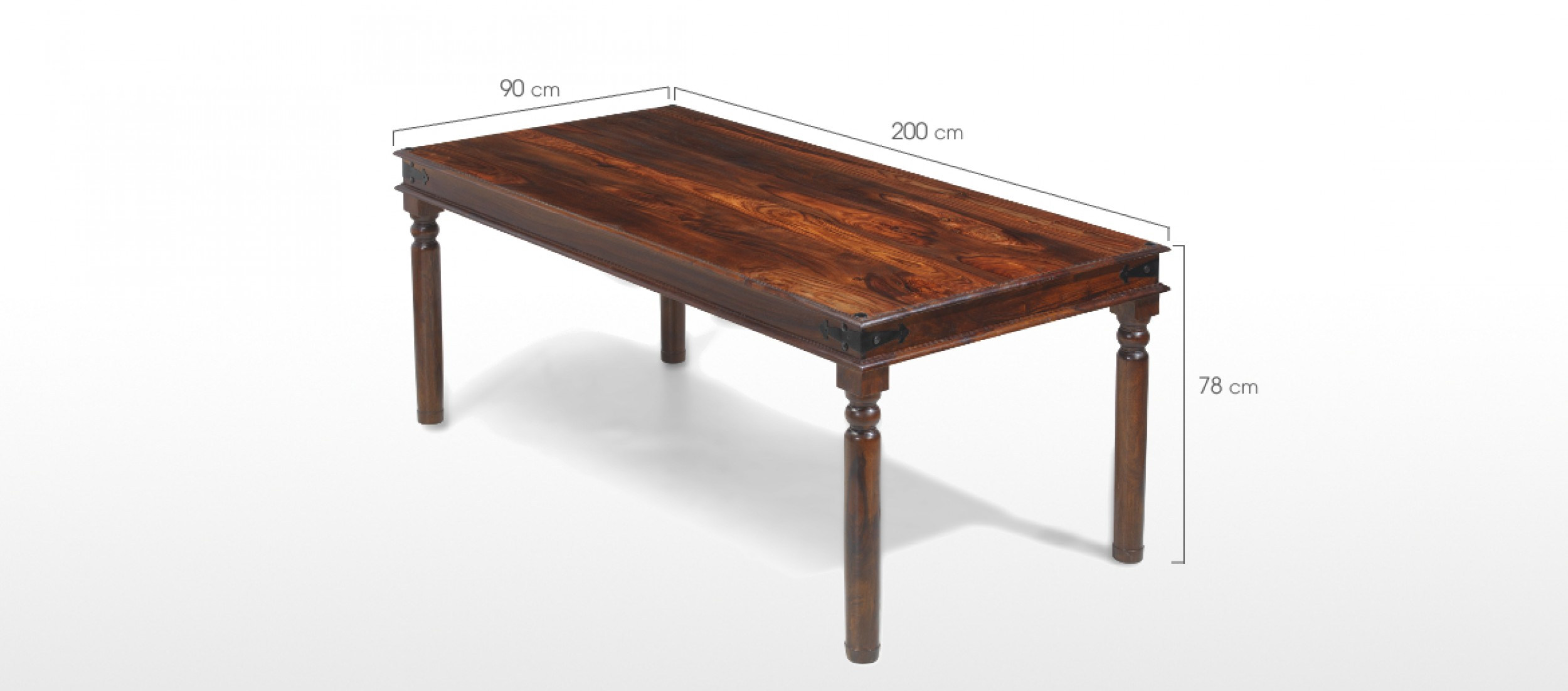 Jali Sheesham 200 cm Thakat Dining Table Quercus Living : jali sheesham thackat dining table sh 15 dimensions1 from www.quercusliving.co.uk size 2500 x 1103 jpeg 172kB