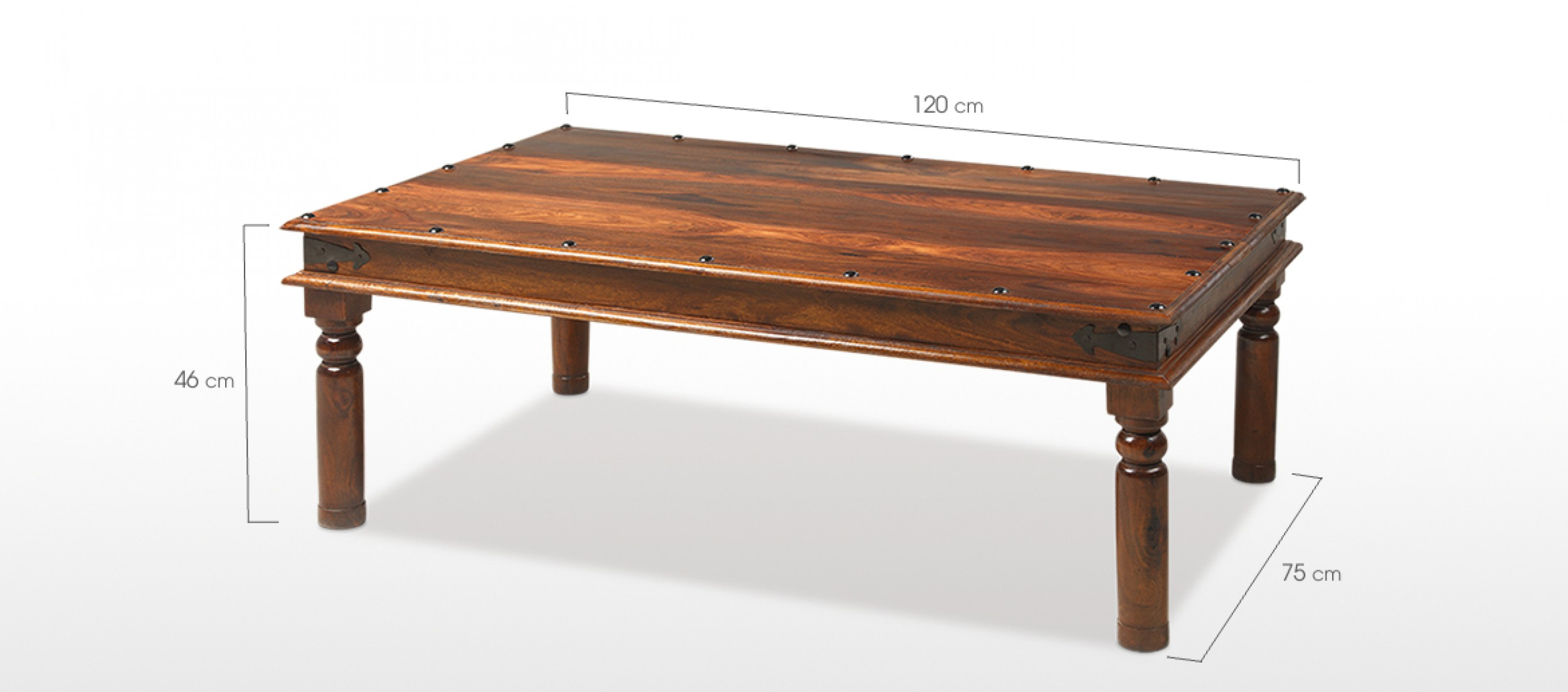 Jali Sheesham 120 Cm Thakat Coffee Table Quercus Living