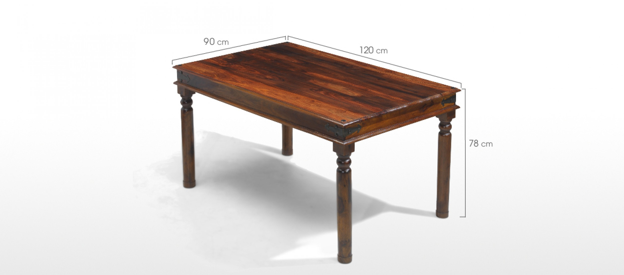 Jali sheesham 120 cm thakat dining table and 4 chairs for 120 dining table sets