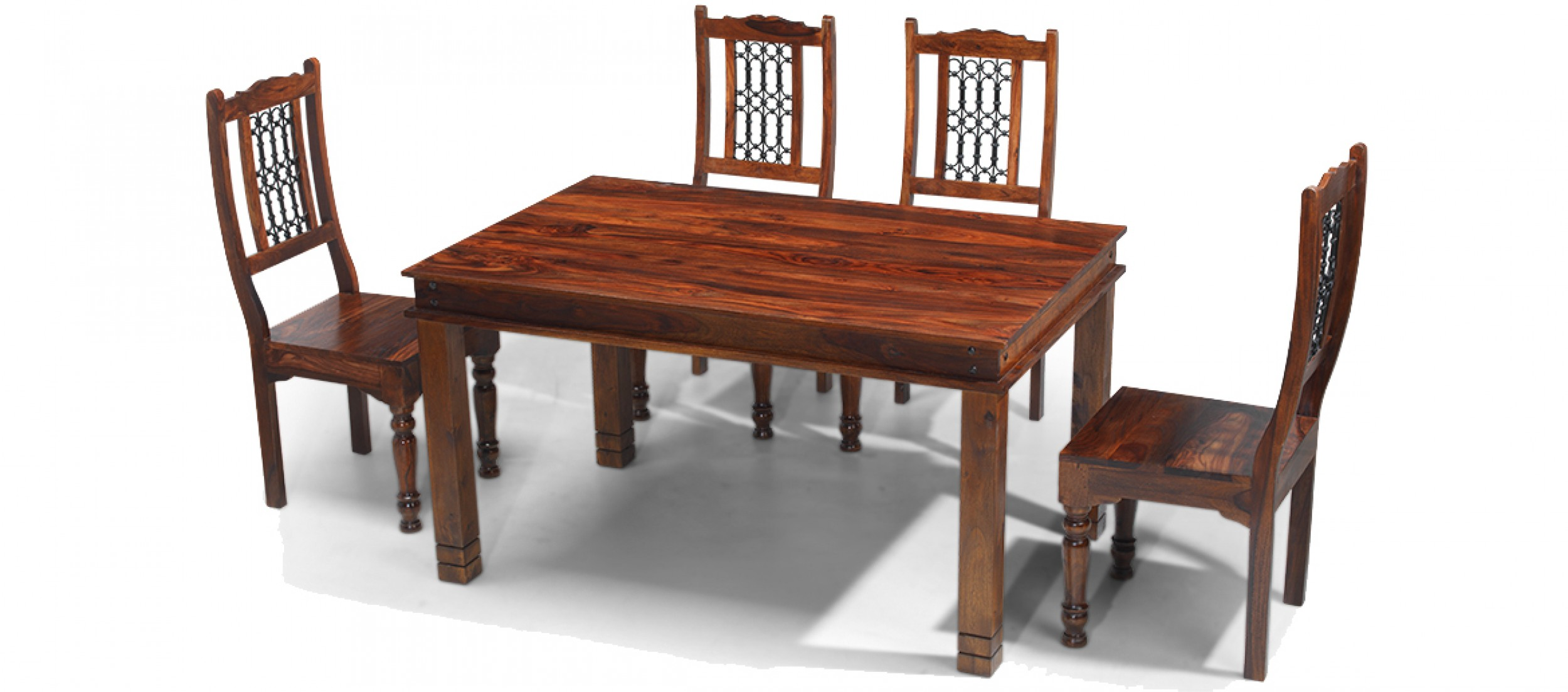 Jali Dining Room Table And Chairs