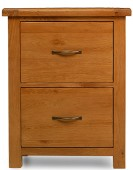 Barham Oak Office Filing Cabinet