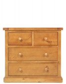 Devon Pine 2 Over 2 Chest of Drawers