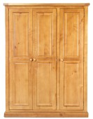 Devon Pine Triple Wardrobe