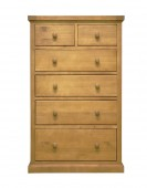 Devon Pine 2 Over 4 Chest of Drawers