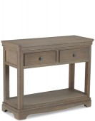 Kilmar Oak Living & Dining Console Table 2 Drawers