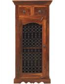 Jali Sheesham Hi-Fi Cabinet