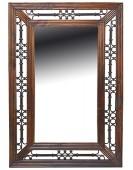 Jali Sheesham Rectangular Mirror