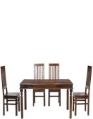 Jali Sheesham 160 cm Thakat Dining Table and 4 Chairs
