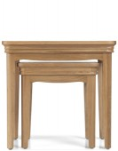 Kilmar Natural Oak Living & Dining Nest Of 2 Tables