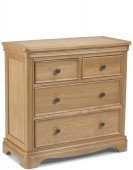 Kilmar Natural Oak Bedroom 2 Over 2 Chest