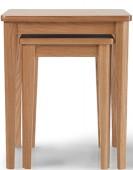 Eklund Oak Nest of 2 Tables
