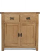 Rustic Oak Small Sideboard