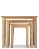 Hayman Oak Nest of 3 Tables