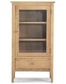 Hayman Oak Glazed Bookcase