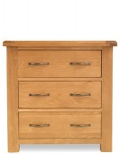 Marton Oak 3 Drawer Chest