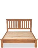 Marton Oak 5ft King Size Bed Low Foot