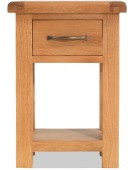 Marton Oak 1 Drawer Bedside