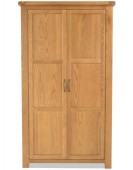 Marton Oak Full Hanging Wardrobe