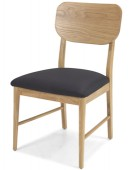 Skiena Oak Dining Chairs - Pair