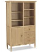 Skiena Oak Display Cabinet