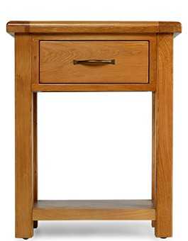 Barham Oak Small Hall Table