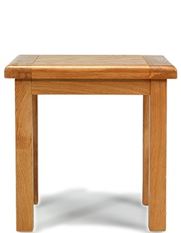 Barham Oak Lamp Table