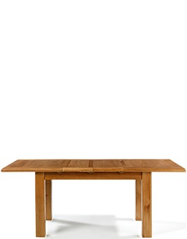 Barham Oak 132-198 cm Extending Dining Table