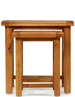Barham Oak Nest of 2 Tables
