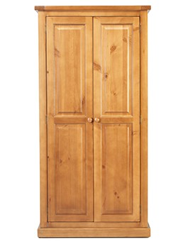 Devon Pine Ladies Double Wardrobe