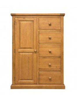 Devon Pine Combination Wardrobe