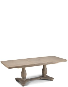 Kilmar Oak Living & Dining Pedestal Ext Dining Table 1800/2300