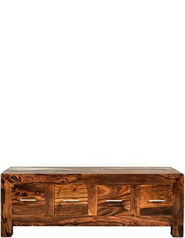 Cube Sheesham 8 Drawer Coffee Trunk